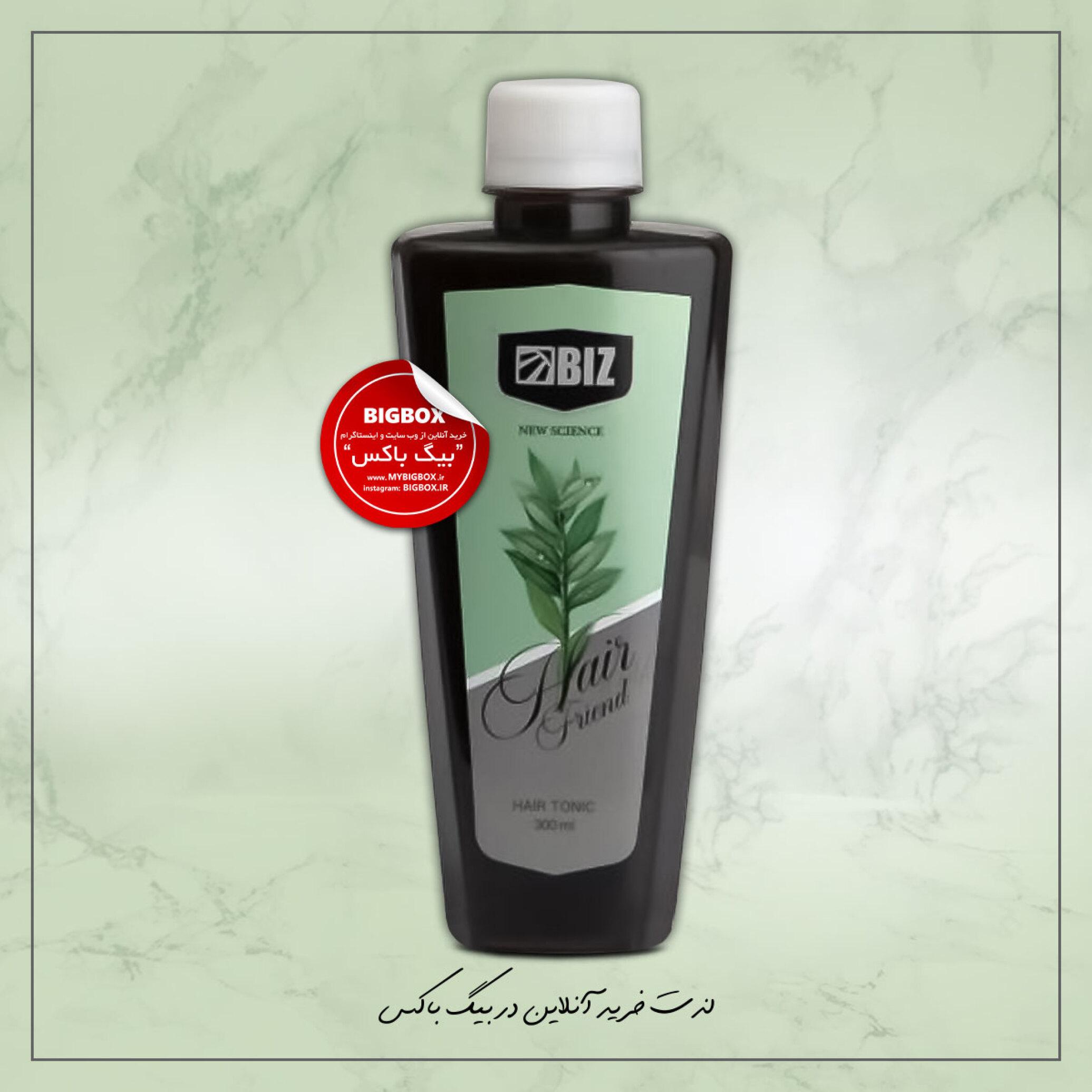 تونیک تقویت کننده مو ۱۰۰% گیاهی بیز مدل Hair Friend حجم 300 میلی لیتر