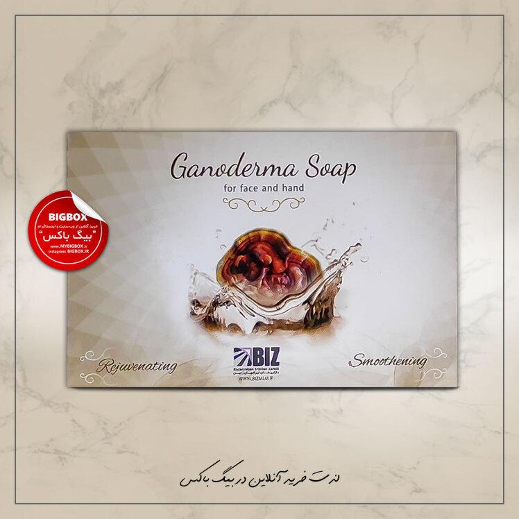 صابون دست و صورت بیز مدل قارچ گانودرما Biz Ganoderma Soap