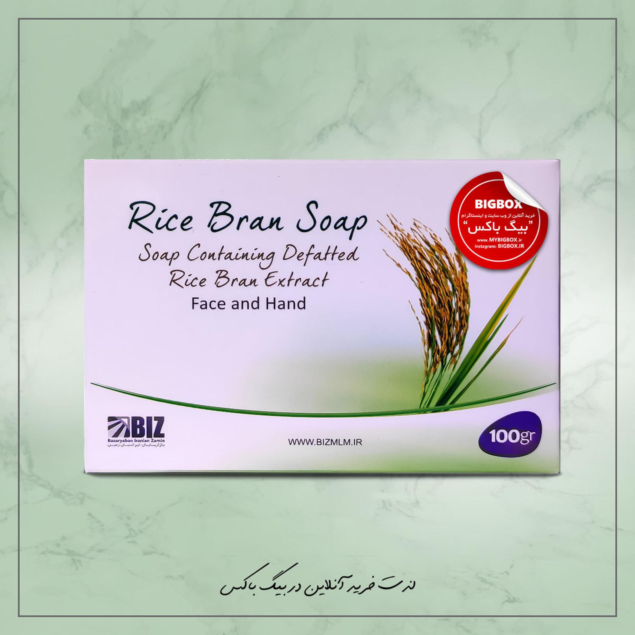 صابون دست و صورت سبوس برنج